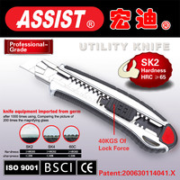 ASSIST retractable knife tactical cutter utility knife of chinese manufacturer