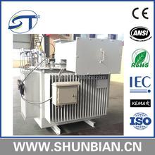6kV 10kV 35kV 415v 1250kva onan dyn11 electric transformer with liquid medium made in China