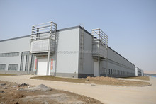 Light steel structured commercial center / plaza with concrete and steel structure