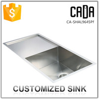 Famous brand cadia stainless steel freestanding kitchen sink manufacturers