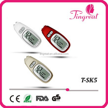 China golden supplier high quality portable facial massage facial skin moisture test