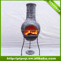 Wholesale hot sale outdoor clay fire chiminea for home and garden
