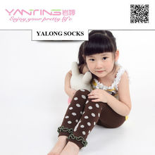 tights YL702 cotton kids footless tights 0427