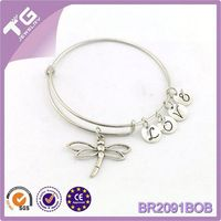 Sterling Silver Bangle,Fashion 2015 Bracelet,Expanded Stainless Steel Wire Mesh