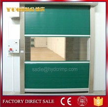 YQR-01 interior roll up door, high speed 50 door seal brush strip