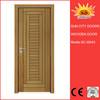 Fashionable top quantity cheap price bathroom door sliding wood doors SC-W043