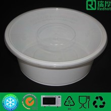 Microwave oven food container hard transparent plastic lunch box 2500ml
