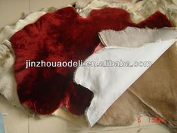 hotest! hot !hot! the most hotsale real genuine sheepskin garment leather material