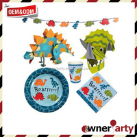 2015 Promotional High Quality Dinosaur Party Supplies