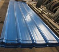 full hard sunfast 22 gauge corrugated steel roofing sheet / metals manufacturing