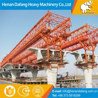 Stable Quality Trussed Type T Beam 20m Bridge Launcher, 450t T Beam 20m Bridge Launcher with Hydraulic System