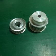 standard and nonstandard steel transmission output or input spur bevel gear timing pulleys set