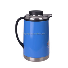 simply designed insulated thermos teapot/ double wall high quality stainless steel thermos teapot/ travel coffee mugs