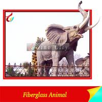 Customized Fiberglass Large Elephant Statues