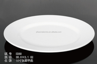 melamine plastic round 10'' wedding wholesale gold charger plates with declare OEM