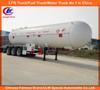 ASME 2 axle LPG tanker trailer 3 axle LPG tanker semi trailer 40000L 58600L LPG tanker semi trailer