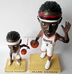 plastic basketball bobblehead figurines,Custom made plastic bobblehead figurine,bobblehead Plastic figurine toy