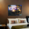 factory direct sale led canvas painting canvas flickering wall paintingg 40*50cm
