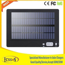 High capacity 50000mah 12v solar car battery charger , solar charger car battery , solar car charger