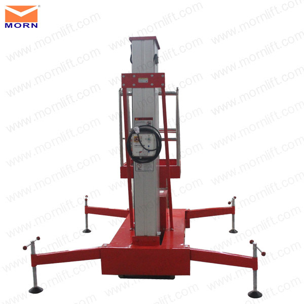 Hydraulic Vertical Lift : Vertical man lift manual hydraulic lifter buy