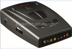 Fashion Design Anti Police Strelka Radar detector For Russia STR530 With Pulse Laser Signal Receiver