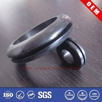 Decorative metal eyelet grommet for shoes
