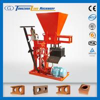 Eco Brava hand press clay brick making machinery
