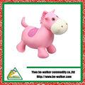 vivo y gran juguetes caballo rosa del estilo