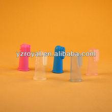 baby finger toothbrush / lovely finger toothbrush for pets/Yangzhou famous toothbrush brands