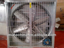 Exhaust fan with two group shutter