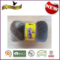 2015 Hot sale in North American Jacquard wool knitting yarn