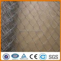 weave chain link fence/chain link fabric/chain link wire