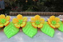 romantic wedding party supplies inflatable flower chain