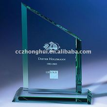 2015 Wholesale Crystal Trophy, Crystal Glass Award, Crystal Plaque for Souvenir Gifts