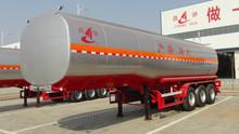 3 COMPARTMENTS e 45000L aluminum tanker semi trailer,storage taner trailer tank trailer