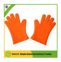 Wholesale Silicon Oven Glove / Silicone Finger Pot Holder