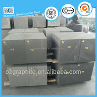High hardness graphite block for plastic mould