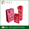 Custom printed cheap small paper gift bags with handles