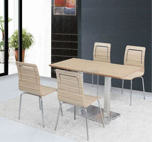 Fast food restaurant catering dining tables & chairs (FOH-BC11)