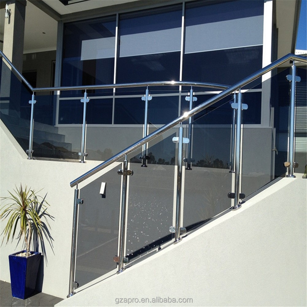 High Quality Aluminium Railing Parts Indoor Stair Railings