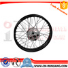 Motorcycle Wheel Rim With Axle Hub Complete For Honda CG125 Cargo125 Titan2000