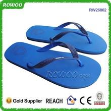 Simple Blue Rubber flip flop,custom flip flop,cheap wholesale flip flop