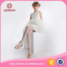 Hot fashion children girls hollow out nylon pantyhose wholesale,girls in white jacquard sheer nylon tights