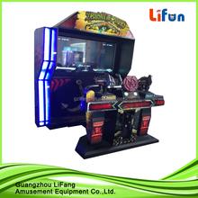 Best seeling simulator 4d gun shooting arcade game machine alien arcade game machine