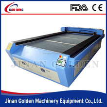 1325 laser cutting machines for leather gloves; leather laser cutitng machine with auto focus 1300*2500mm