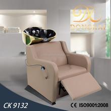 2015 electric shampoo chair & high quality hair salon furniture electric massage shampoo chair(CK 9132)