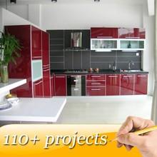 Bespoke Kitchen Cabinets Manufacturer in Guangzhou
