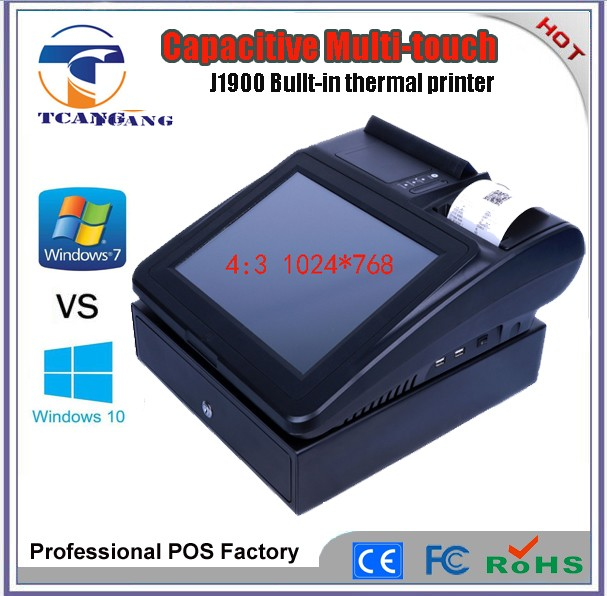 12 inch Touch Screen Pos System All in one