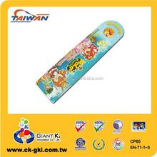 Promotional plastic 15cm bookmark funny ruler