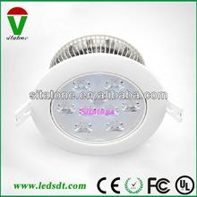 120 volt led recessed down light AC85-265V 12V 3W 5W 7W 9W 12W 15W 18W 21W 24W D09 series
